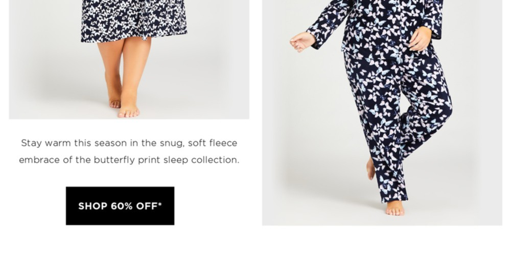 60% Off* Lingerie & Sleepwear - *See Terms & Conditions for full details - prices as marked - SHOP NOW