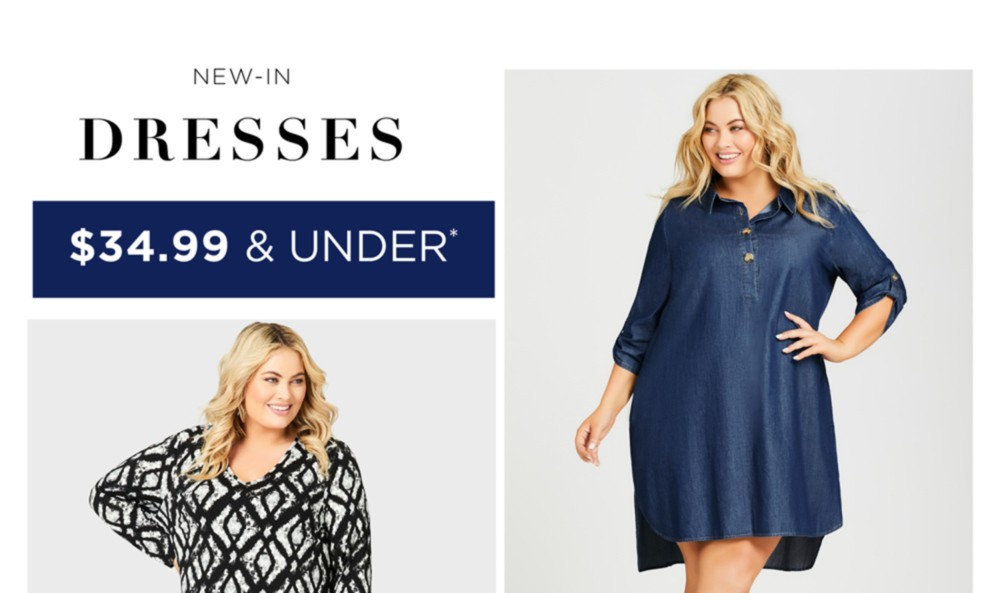 $34.99* Dresses - *See Terms & Conditions For Full Details, Prices As Marked - SHOP NOW