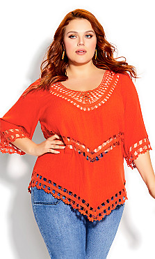 Plus Size Catalina Top - tigerlily