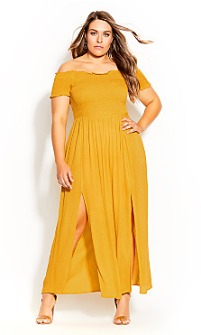 Summer Passion Maxi Dress - sunshine