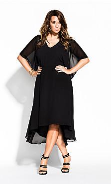 Women's Plus Size Adore Dress - black