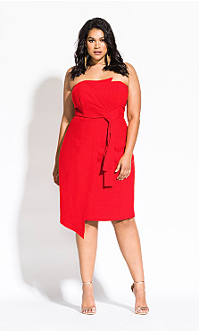 Women's Plus Size Origami Dress - tigerlily
