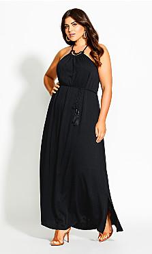 Fearless Maxi Dress - black