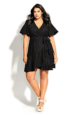 Sweet Love Lace Dress - black