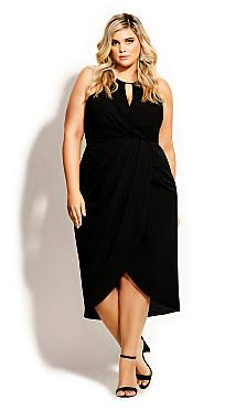 Love Story Dress - black