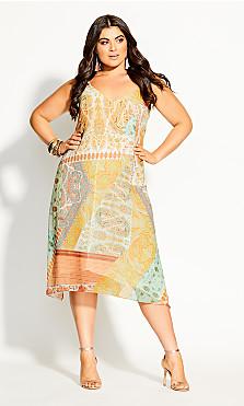 Togo Dress - lime