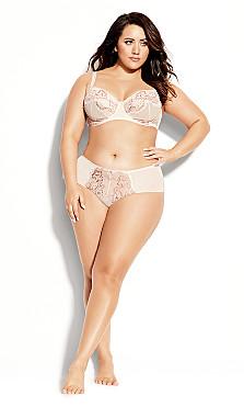 Plus Size Carmen Underwire Bra - blush