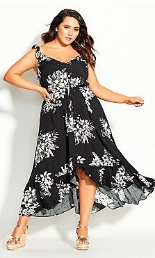 Paros Maxi Dress - black
