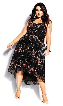 Dolce Love Dress - scarlet