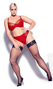 Duet Demi Underwire Bra - ruby red