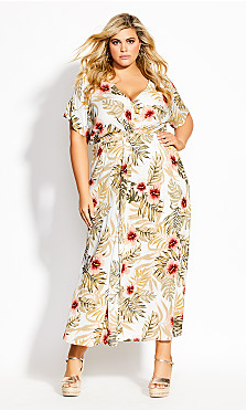 Knot Laysan Maxi Dress - ivory