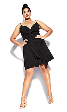 Delectable Dress - black