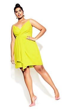 Delectable Dress - citronella