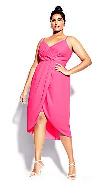 Sassy Affair Dress - pink