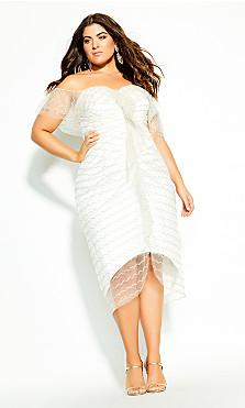 Jewel Dream Dress - ivory