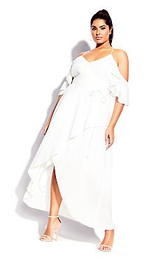 Miss Jessica Maxi Dress - ivory
