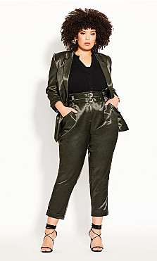 Plus Size Wild Escape Pant - evergreen
