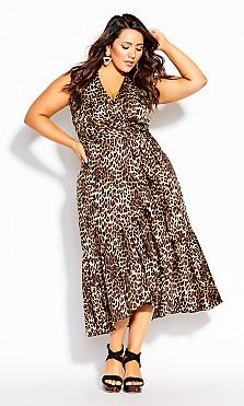 Plus Size Animal Lust Dress - animal