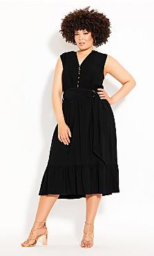 Plus Size Next Level Dress - black