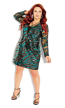 Plus Size Divinity Dress - emerald
