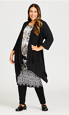 Plus Size Everly Dress - black