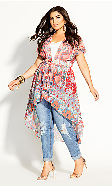Plus Size Adisa Jacket - punch