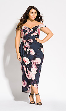 Women's Plus Size Sweet Love Dress
