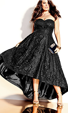 Krystal Maxi Dress - black