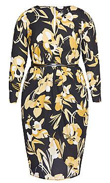 Golden Mood Maxi Dress - black