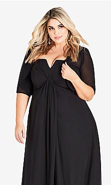 Plus Size Cropped Sheer Black Shrug