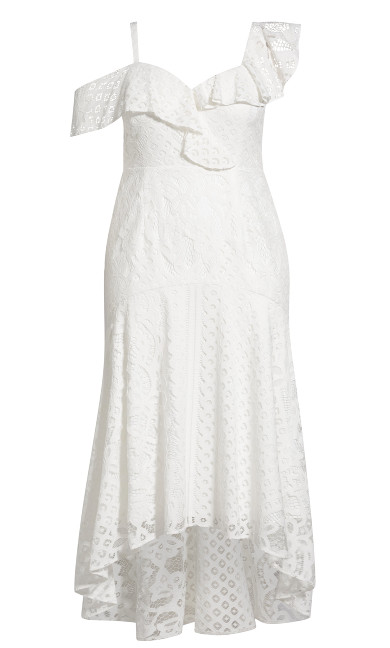Femme Fatale Maxi Dress - ivory