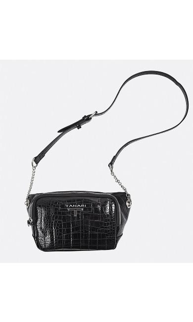 Faux Crocodile Storyteller Belt Bag