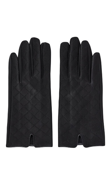 Quilted Touch Screen Gloves