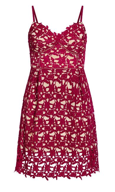 So Fancy Dress - fuchsia