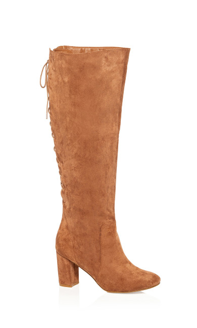 Women's Plus Size Perry Knee High Boot - chestnut