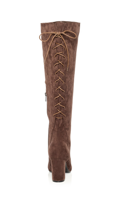 Perry Knee High Boot - mocha