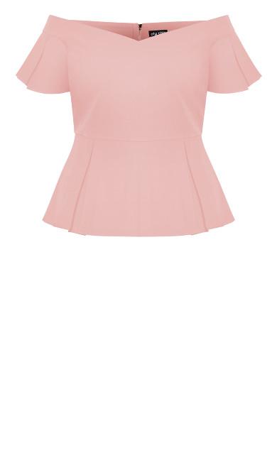 Aria Top - blush