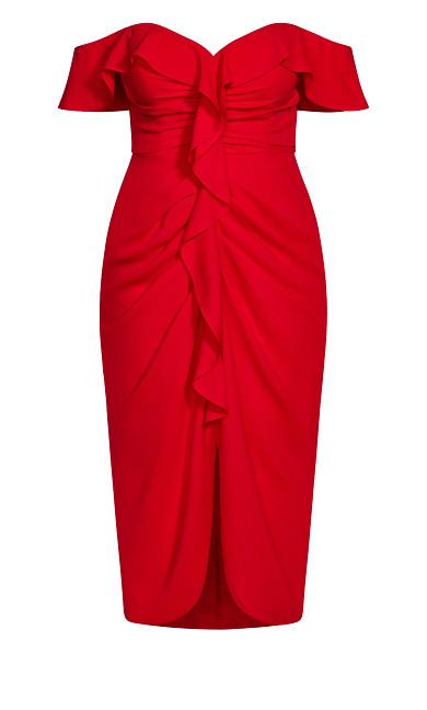 Va Va Voom Dress - red