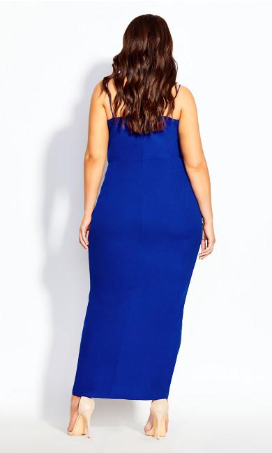 Luciana Maxi Dress - cobalt