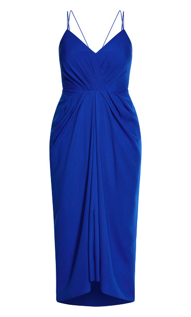 Luciana Maxi Dress - cobalt