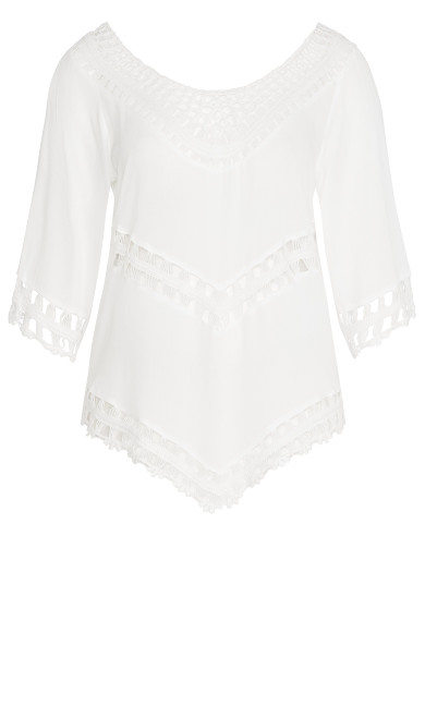 Catalina Top - ivory