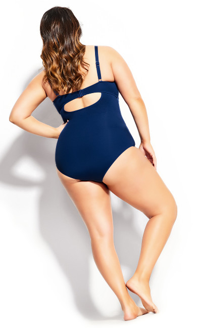 Rhodes Underwire 1 Piece - navy
