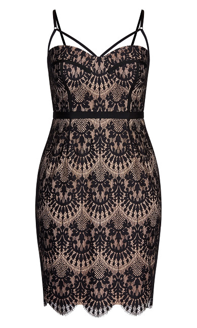 Brianna Dress - black