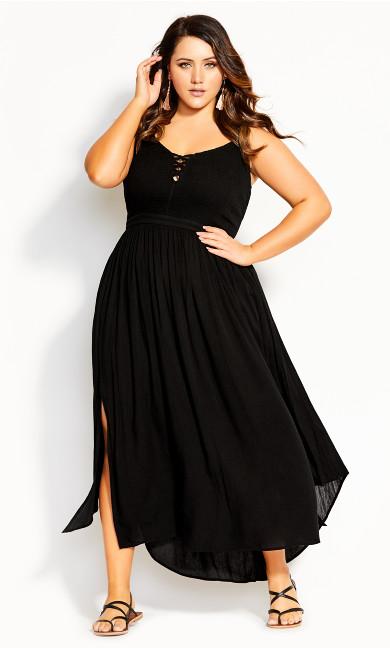 Women's Plus Size Belize Dress - black