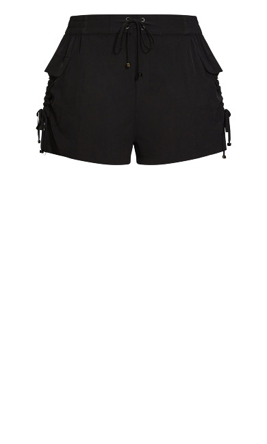 Short Cargo Boardshort - black