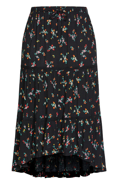 Summer Spring Skirt - black