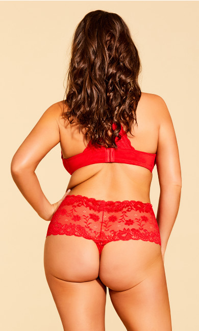 Zoey Thong - red