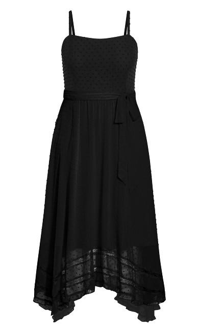 Flirty Nature Dress - black
