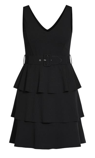 Sweet Essence Dress - black