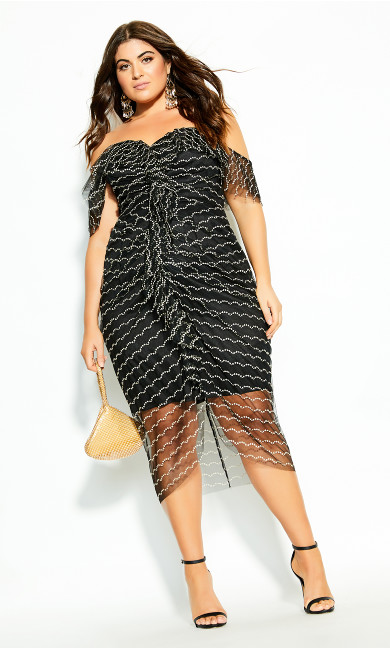 Jewel Dream Dress - black